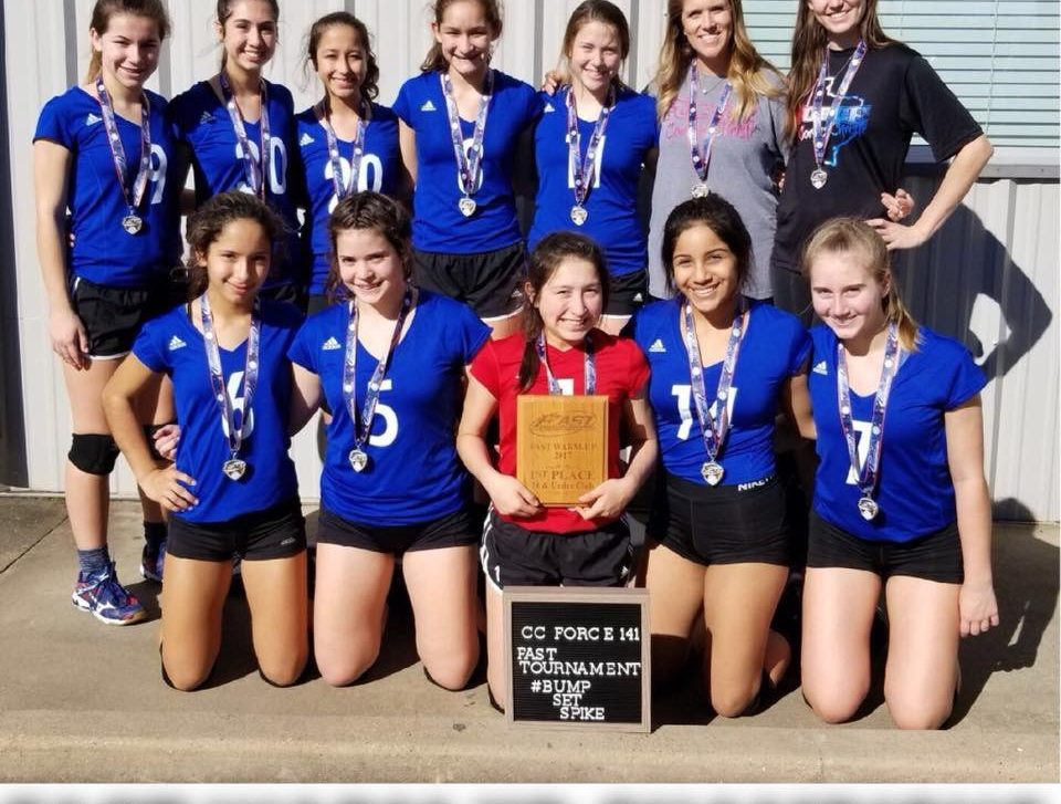 Tournament Results Archive Corpus Christi Force Volleyball